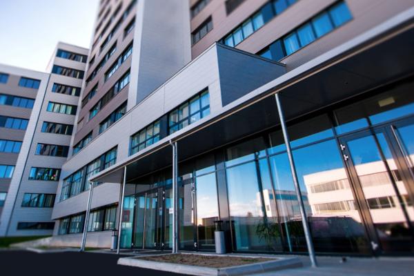 Eingang Sport- und Seminarhotel Hollabrunn